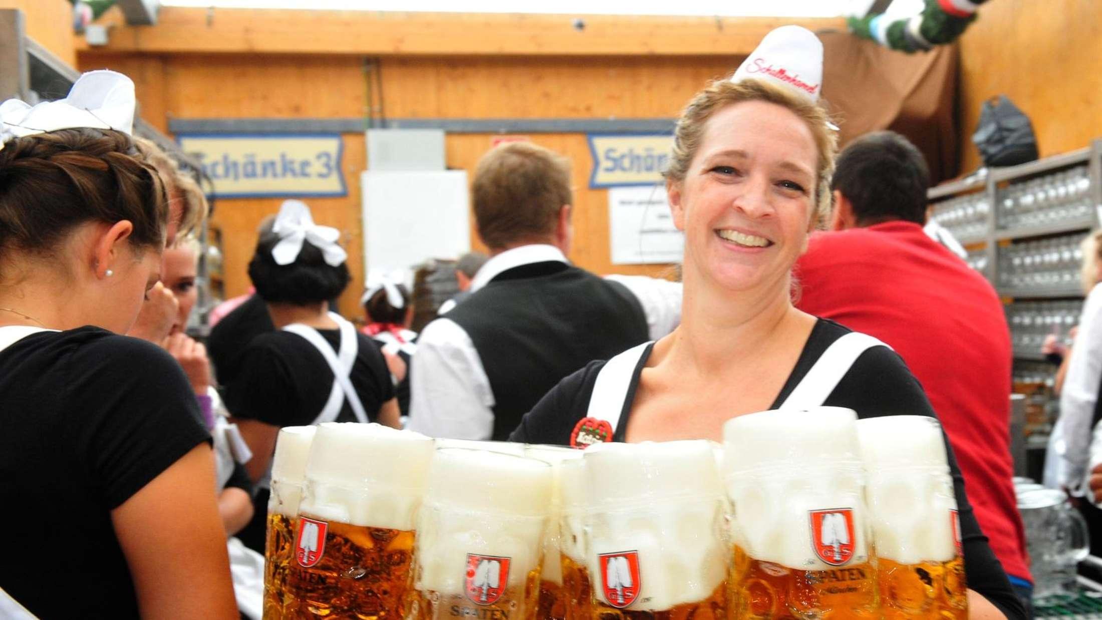 Oktoberfest München: Diese Jobs gibts auf der Wiesn 2016